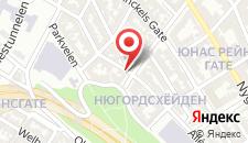 Отель Hotel Park Bergen на карте