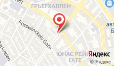 Отель Citybox Bergen на карте