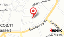 Отель Radisson Blu Hotel Hasselt на карте