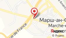 Отель Hotel Le Manoir на карте