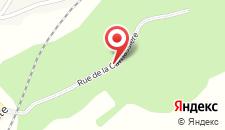 Отель Gite Fond des Vaulx на карте