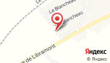 Отель Hotel L'Amandier на карте