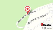 Отель Gite La Vigne на карте
