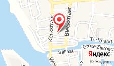 Отель De Waag на карте