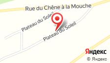 Шале Chalet Basic Plateau du Soleil на карте