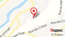 Отель Hotel Côté Cour на карте