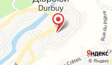 Отель Hotel Au Vieux Durbuy на карте