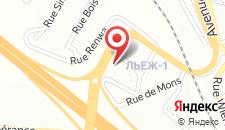 Отель Campanile Hotel & Restaurant Liège / Luik на карте