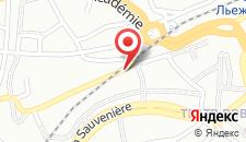 Отель Les Comtes De Mean на карте