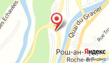Отель Hotel Le Chalet на карте