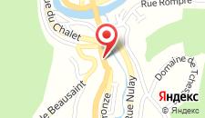 Отель Hotel Du Midi на карте