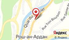 Отель Hotel Les Arcades на карте