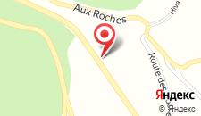 Отель Hotel Au Romain на карте