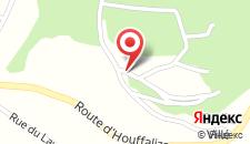 Отель Les Rochettes - Pluton 1 на карте