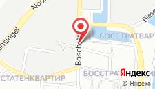 Отель Bastion Hotel Maastricht Centrum на карте