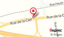 Отель Hôtel de la Tour на карте
