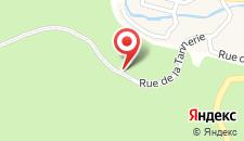 Отель Jardins de L'Ourthe 8 на карте
