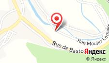 Отель B&B L'ourthe на карте