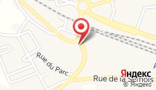 Апарт-отель Appart'City Arlon - Porte du Luxembourg на карте