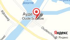 Отель De Oude Schouw на карте