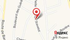 Апартаменты Entre Sources Et Bois на карте