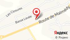 Отель Romantik Hotel le Val d'Amblève на карте