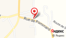 Отель Hotel Le Relais de Pommard на карте