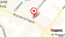 Отель Hostellerie Au Vieux Hetre на карте