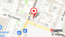Гостиница Купеческий дом на карте