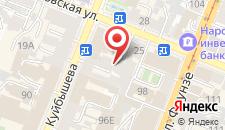 Хостел Хостелы Рус Самара на карте