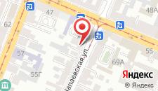 Гостевой дом на Николаевской на карте