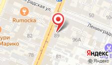 Отель АЗИМУТ Отель Самара на карте