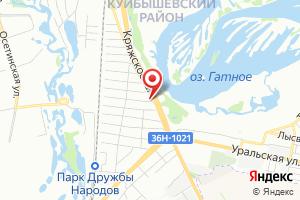 Адрес Самара водоканал на карте