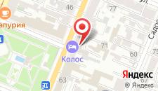 Гостиница На Самарской на карте