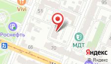 Гостиница Ливадия на карте