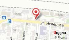 Отель Отдых на карте
