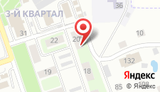 Гостиница Моя Глинка на карте