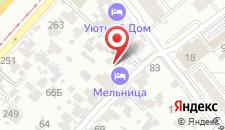 Мини-гостиница Мельница на карте