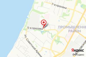Адрес Электрическая подстанция Солнечная на карте