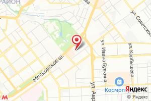 Адрес Волгакомсамара на карте