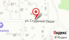 Гостиница Городок на карте