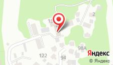 Гостиница Ласка на карте