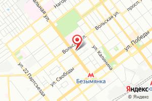 Адрес СамГЭС на карте