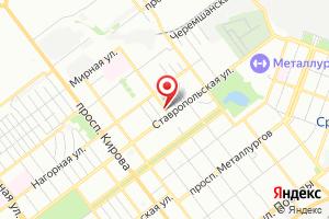 Адрес Промэлектро на карте