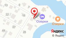 Парк-Отель Озерки на карте