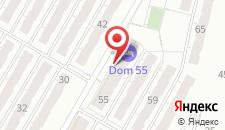 Мини-гостиница Дом 55 на карте
