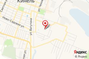 Адрес Газпром межрегионгаз Самара, территориальный участок Кинель на карте