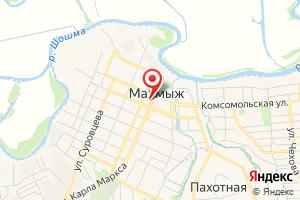 Адрес Газпром газораспределение Киров, Малмыжский газовый участок на карте