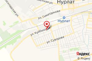 Адрес Нурлат-Водоканал ГУП на карте