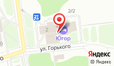 Гостиница Югор на карте